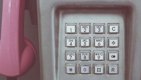 Telefoonknoppen