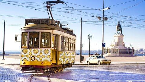 stedentrip LISSABON tram