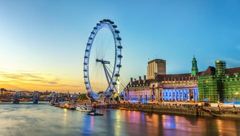 stedentrip LONDEN eye