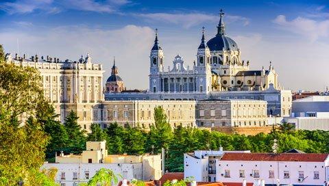 stedentrip MADRID uitzicht