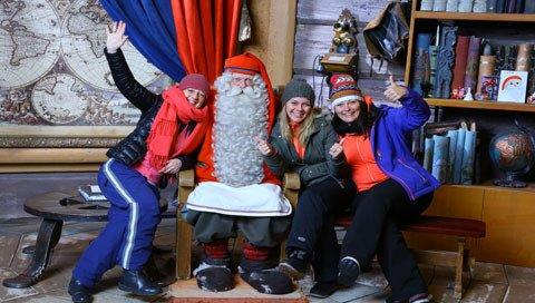 De Reisbeleving in Lapland met de kerstman