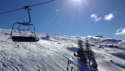 ski trip wintersport lift