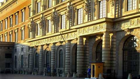 stedentrip Stockholm paleis
