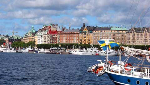 stedentrip Stockholm te water