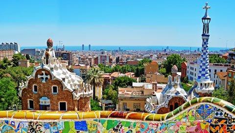 Stedentrip barcelona gaudi
